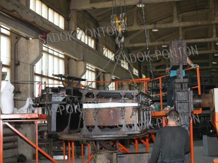 модульные понтоны 2000х1000 производство модульных понтонов 2000х1000