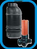 пластиковые колодцы, сборные колодцы, дренажный колодец
