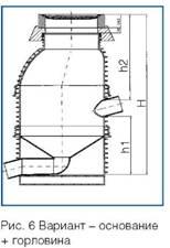 схема колодца Вавин