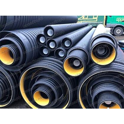 гофрированная труба магнум для канализации, водоотведения и дренажа производство Италия