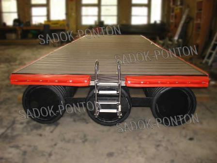 модульные понтоны 500х500 перевозка модулей