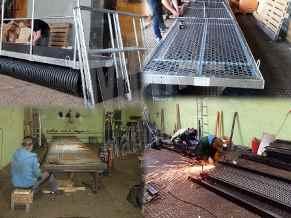 производство технологического причала для сбора нефтепродуктов