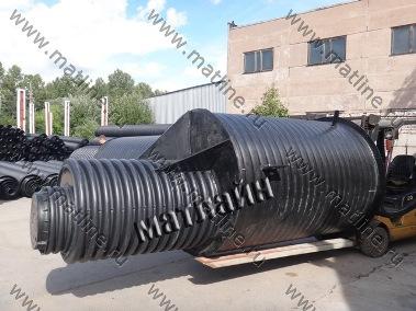 Вывоз колодца ККТ1500/1660-2800 с производственного цеха